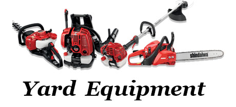Yard Equipment for purchase