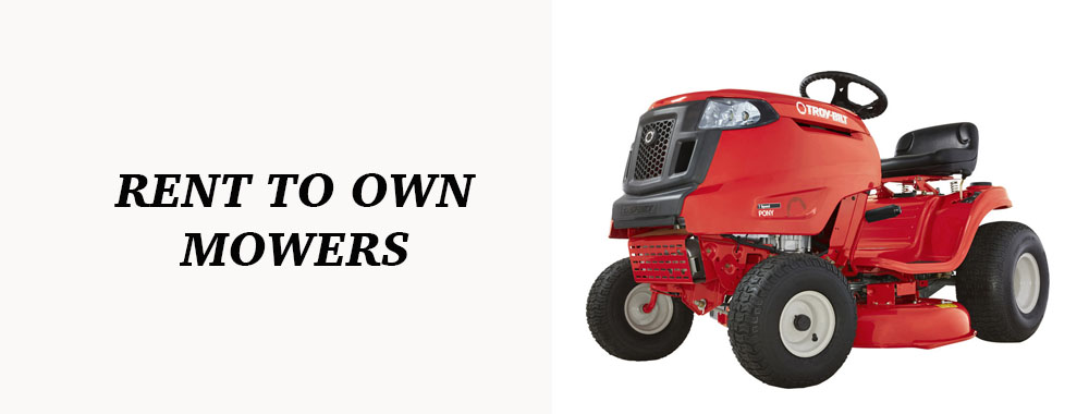 Rent To Own Lawn Mowers Shop Ez Credit